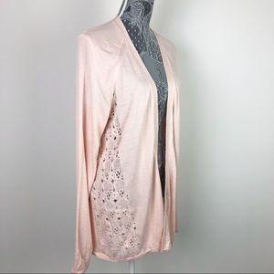 Maurice's Soft Pink Cardigan